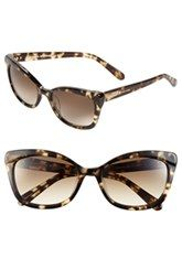 kate spade new york 'amaras' 55mm sunglasses. Those are a must.