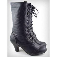 Coal Mill Victorian Boots 5.5