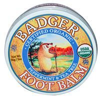 Badger Company, Foot Balm, Peppermint & Tea Tree, 2 oz (56 g) - iHerb.com