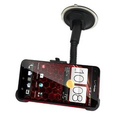 Droid DNA Car Mount Kit - Custom Fit Car Windshield Mount for HTC DNA by BBX Mounts. Custom Fit for the HTC Droid DNA. Easily adjustable swivel mount and suction mount for ideal viewing angle. Attach NFC tags for auto-start functionality of GPS, Music, Dock Mode, etc. HTC DNA Windshield Mount.