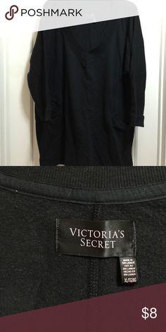 Victoria Secret 3/4 sleeve sweat shirt Victoria Secret sweatshirt never worn accidentally bought two Victoria's Secret Tops Sweatshirts & Hoodies