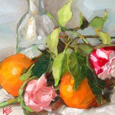DPW Fine Art Friendly Auctions - Oranges by Krista Eaton