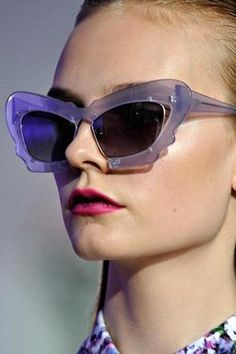Prabal Gurung by Linda Farrow #sunglasses available now at #SunglassCurator.com