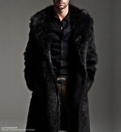 Luxury-Black-Faux-Fur-Coat-Men-Outerwear-Warm-Long-Jacket-Winter-Overcoat-Parka