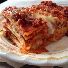 World's Best Lasagne recipe – All recipes Australia NZ Italian Menu, Italian Recipes, Beef Recipes, Cooking Recipes, Recipies, Worlds Best Lasagna, Lasagna With Ricotta, Chef John Recipes, Rezepte