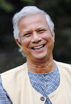 Dr. Muhammad Yunus was chosen to receive the 1994 World Food Prize for his original approach to promoting the economic and social empowerment of the poorest citizens of Bangladesh, specifically women and children. Through his novel program of no-collateral micro-loans, millions of impoverished, undernourished, and disenfranchised families have gained access to adequate food and nutrition for the first times in their lives, giving them the health necessary to obtain long term security.