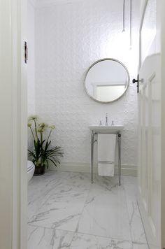 White renovated bathroom | Canterbury Warrington Basin tap wear Astrawalker