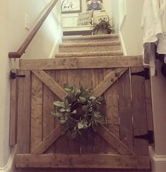 Excited to share this item from my shop: Barn Door Baby/Pet Gates Diy Dog Gate, Barn Door Baby Gate, Barn Door Latch, Diy Baby Gate, Pet Gate, Diy Barn Door, Staircase Gate, Dog Gates For Stairs, Stair Gate
