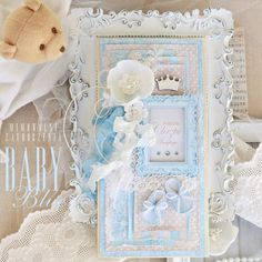 Mimowolne Zauroczenia, kartka ręcznie robiona, dla chłopca, na Chrzest Święty, Baptism, Baptism Card,