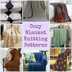 Cozy Blanket Knitting Patterns