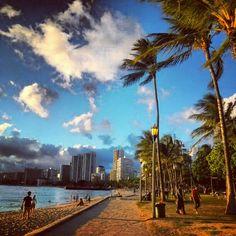 Waikiki, Hawaii.