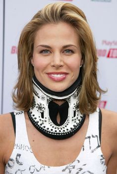 26. Hhmmm...I wish I thought of bedazzling my collar!! Neck And Back Pain, Head And Neck, Neck Pain, Acdf Surgery, Neck Surgery, Spine Surgery, Sports Knee Brace, Brooke Burns, Cervical Disc