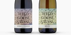 The Wild Goose Chase — The Dieline - Branding & Packaging Design