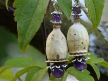 Decorative Bells, Poppy, Diy Jewelry, Projects To Try, Arts And Crafts, Etsy, Inspiration, Bead, Shell