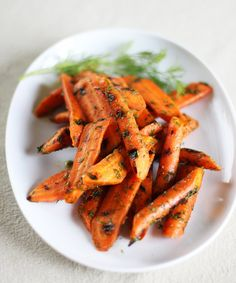 Easy Vegetable Recipe:  Grilled Carrots with Lemon and Dill  — Recipes from The Kitchn