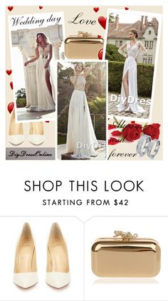 """Diydress 1"" by smasy ❤ liked on Polyvore featuring Christian Louboutin and diydress"