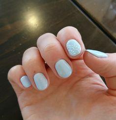 Greek Wedding Nails 👰🏻💅🏻