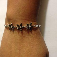 Bracelet Rainbow Mystic Tooaz Sterling Silver Overlay Link Chain Bracelet(NEW) No trades. No Holds. No PayPal. Jewelry Bracelets