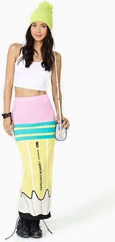 c3debe123099a $68 Pencil Maxi Skirt - Lyst Pretty Girl Swag, Maxi Pencil Skirt, Dress  Skirt