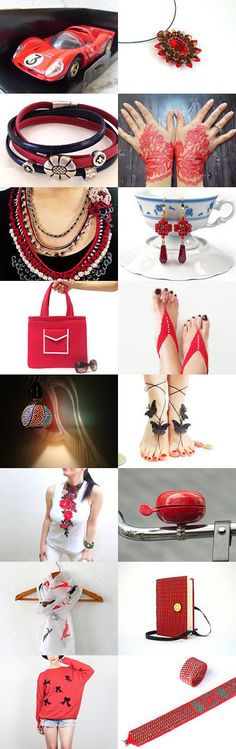 Red and Black gift guide  by Mike on Etsy--Pinned with TreasuryPin.com