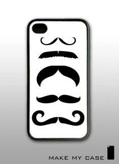 Your Mustache   iPhone 4 Case iPhone 4s Case iPhone 4 by WallSmart, $16.99