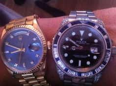 Double up!  From my competition - a watch from one of my readers
