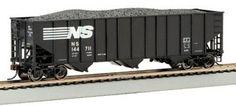Bachmann Trains Norfolk Southern Bethlehem Steel 100 Ton Three-Bay Hopper #144913 $20.19