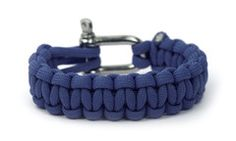 Navy Blue paracord bracelet