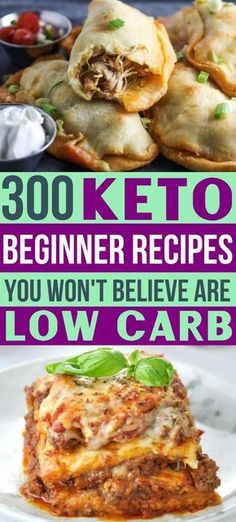 Need some easy keto recipes? As a keto diet beginner, you're going love these ketogenic meal ideas! 300 amazingly easy low carb recipes for breakfast, lunch & dinner, plus healthy snacks & desserts! Ketogenic Diet Meal Plan, Ketogenic Diet For Beginners, Keto Meal Plan, Recipes For Beginners, Diet Meal Plans, Ketogenic Recipes, Diet Recipes, Dessert Recipes, Breakfast Recipes