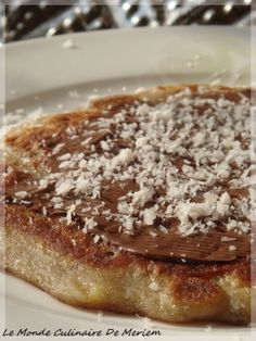 Bonbons-Bananes (Crepes de bananes) - Le Monde Culinaire De Meriem Facon, Crepes, Biscuits, French Toast, Paleo, Brunch, Dessert Recipes, Food And Drink, Cooking Recipes