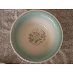 Susie Cooper Salad or Soup Bowl. 1932/1964... Dresden Spray.