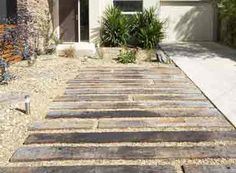railway sleeper patio - Google Search