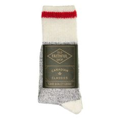 Classic Canadian Socks by Old Faithful Shop