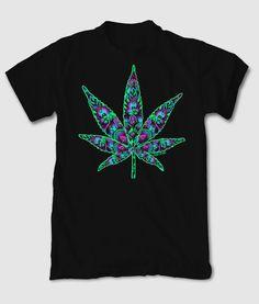 High Times Leaf Mens T-Shirt