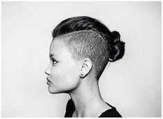 awesome I like the undercut. Hubby would just be glad I had SOME long hair...