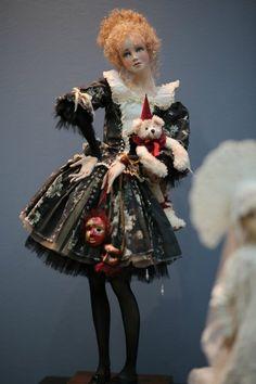 """Великолепие выставки """"Искусство Куклы"""" 11 декабря 2015 г. / Выставка кукол - обзоры, репортажи, информация, фото / Бэйбики. Куклы фото. Одежда для кукол"""