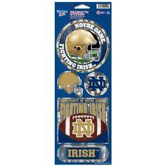 Notre Dame Fighting Irish Stickers Prismatic