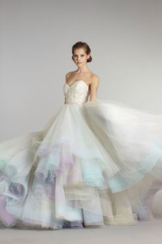Beautiful prom or wedding dress