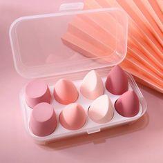 Soft Makeup, Makeup Box, Cute Makeup, Makeup Brush Set, Makeup Tools, Clean Makeup, Makeup Hacks, Blush Makeup, Diy Makeup