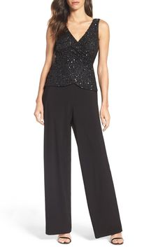 Embellished Jersey Jumpsuit https://bellanblue.com/collections/new