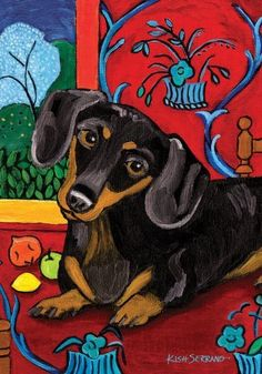 Toland Home Garden 112627 Muttisse Dachshund Decorative Garden Flag, 12.5 by 18-Inch by Toland Home Garden. $6.99. Sublimated Flag made from 600 denier polyester fabric. All Toland Flags are machine washable and UV, mildew, and fade resistant. Toland Flags are Heat Sublimated to permanently dye fabric for long lasting color. Decorative flags by Toland feature licensed artwork that is favored by flag flyers. Garden Flag Size: 12.5 inches by 18 inches. The Muttisse Dachshund ...