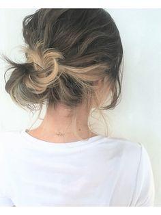 ◆melgina◆SAITO アレンジしても可愛い インナーカラー - 24時間いつでもWEB予約OK!ヘアスタイル10万点以上掲載!お気に入りの髪型、人気のヘアスタイルを探すならKirei Style[キレイスタイル]で。