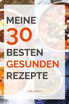 Dann werdet ihr meine Top 30 gesunden Reze… Looking for healthy recipes? Then you will love my top 30 healthy New Year recipes. Fast, easy and really tasty! Easy Chinese Recipes, Easy Soup Recipes, Good Healthy Recipes, Easy Chicken Recipes, Healthy Foods To Eat, Clean Recipes, Healthy Life, Diet Recipes, Eating Habits
