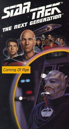 Star Trek - The Next Generation Episode 19: Coming Of Age [VHS] @ niftywarehouse.com #NiftyWarehouse #StarTrek #Trekkie #Geek #Nerd #Products