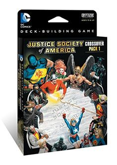 DC Comics Deck Building Game Crossover Pack 1 JSA *** You can find more details by visiting the image link.
