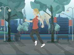 Jogging by Richard Bolland