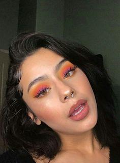 Wimpern Wimpern # Vanessa Da SunShine schmuebby make up Wimpern # Vanessa Da SunShine Wimpern # schmuebby Wimpern # make up Wimpern # Vanessa Da SunShine Glam Makeup, Skin Makeup, Eyeshadow Makeup, Eyeliner, Makeup Box, Eyeshadow Palette, Peach Makeup, Glitter Eyeshadow, Orange Eyeshadow Looks