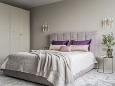 МЕТРАЖ: 70 м2  ДИЗАЙН: ЖАННА НАВОЛОЦКАЯ Bed, Interior, Furniture, Home Decor, Indoor, Homemade Home Decor, Stream Bed, Design Interiors, Home Furnishings