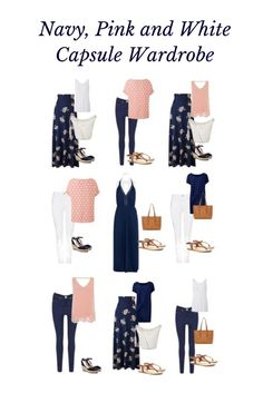 I am obsessed with the idea of a capsule wardrobe. Pieces which work together and can combine to suit any occasion. Here's my summer capsule wardrobe.