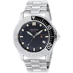 ea173b84451 Gucci Men s YA126253 G Timeless Stainless Steel Watch